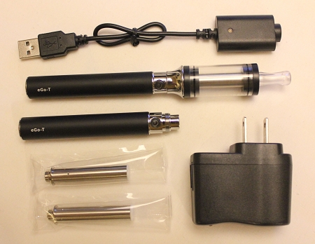 5ml Black eGo Cartomizer Tank Kit (1100mAh)