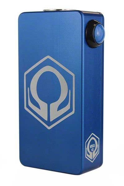 Craving Vapor Hex Ohm V2 110w Mod (Blue)