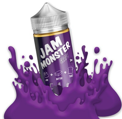 JAM MONSTER – GRAPE (100ml)