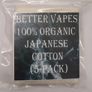 100% Organic Japanese Cotton (5-Pack)