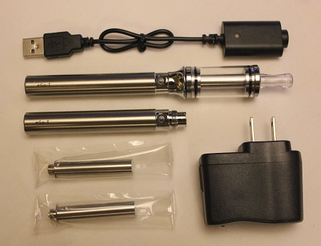 5ml Chrome eGo Cartomizer Tank Kit (1100mAh)