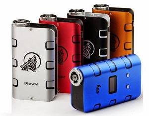 God 180 Box Mod (Blue)