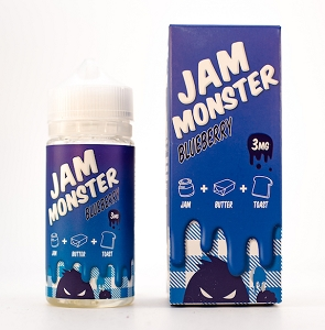 JAM MONSTER – BLUEBERRY (100ml)