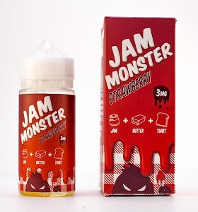 JAM MONSTER – STRAWBERRY (100ml)