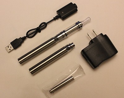 3.5ml Chrome eGo Cartomizer Tank Kit (1100mAh)