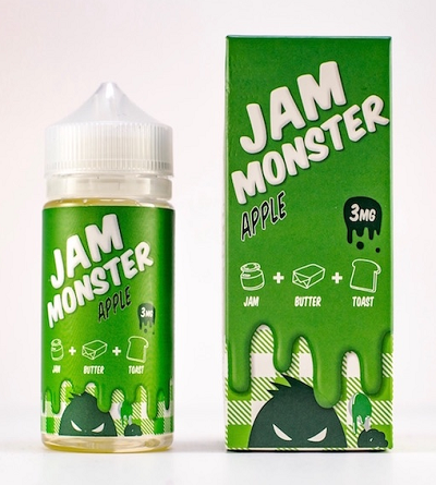 JAM MONSTER – APPLE (100ml)